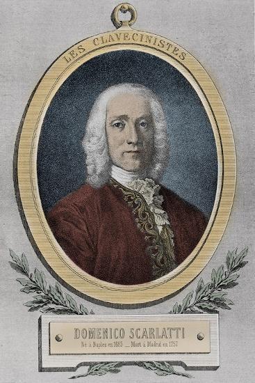 Portrait of Domenico Scarlatti-Stefano Bianchetti-Giclee Print