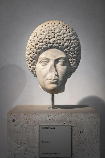 Portrait of Domitia, About 96 Ad, National Museum of Rome--Giclee Print