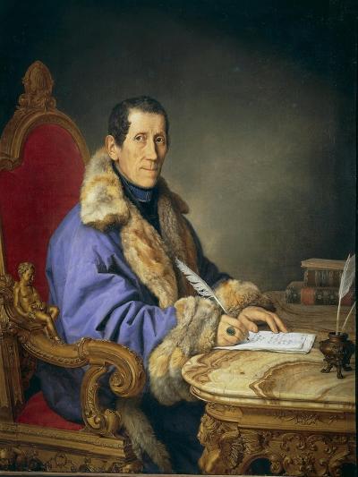Portrait of Don Germanico Bernardi, 1836-Pompano Mariana-Giclee Print