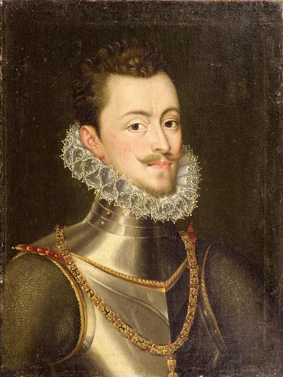 Portrait of Don John of Austria-Alonso Sanchez Coello-Giclee Print
