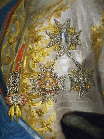 Portrait of Don Luis Antonio Jaime De Bourbon-Anton Raphael Mengs-Giclee Print