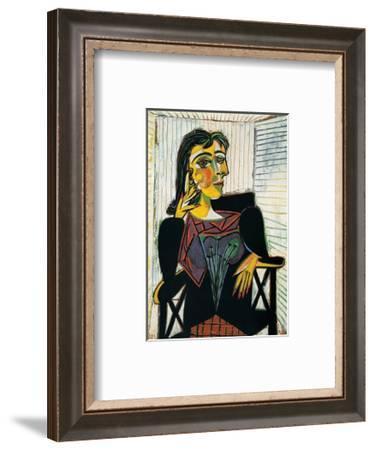 Portrait of Dora Maar, c.1937-Pablo Picasso-Framed Art Print