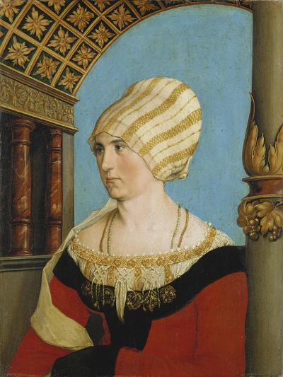 Portrait of Dorothea Kannengiesser, 1516-Hans Holbein the Younger-Giclee Print