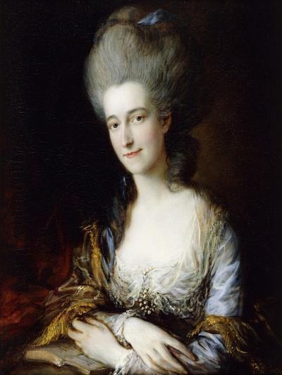 Portrait of Dorothea-Thomas Gainsborough-Giclee Print