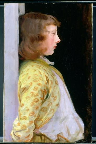 Portrait of Dorothy Barnard, 1889-John Singer Sargent-Giclee Print