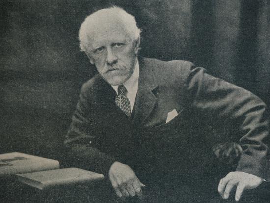 'Portrait of Dr. Fridtjof Nansen', c1920-Unknown-Photographic Print