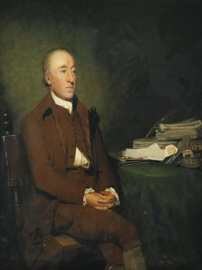 Portrait of Dr James Hutton, a Pile of Geological Specimens on the Table Beside Him-Sir Henry		 Raeburn-Giclee Print