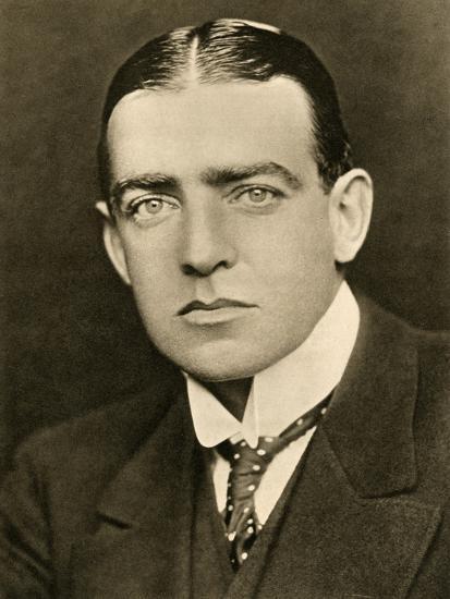 'Portrait of E. H. Shackleton', c1905, (1909)-George Charles Beresford-Photographic Print