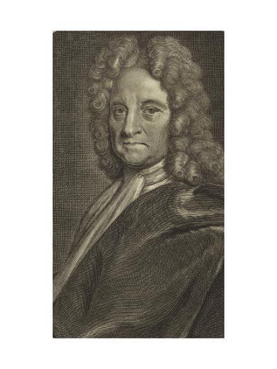 Portrait of Edmond Halley--Giclee Print