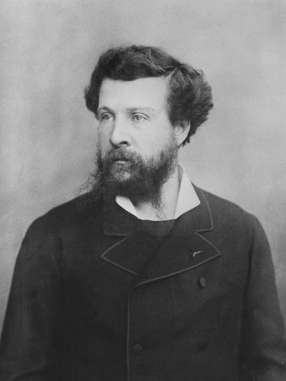 Portrait of Édouard Pailleron--Photographic Print