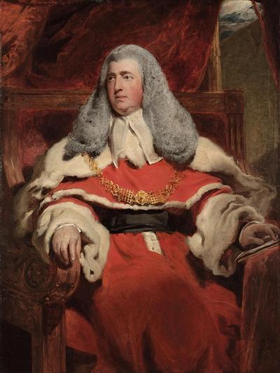 Portrait of Edward Law, 1st Baron Ellenborough, M.P.-Thomas Lawrence-Giclee Print