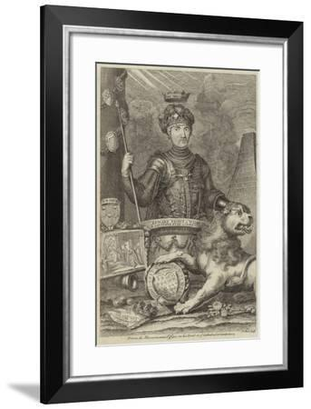 Portrait of Edward, Prince of Wales--Framed Giclee Print