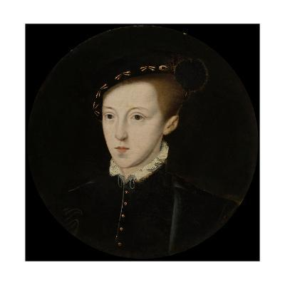 Portrait of Edward VI (1537-1553), King of England, C. 1550--Giclee Print