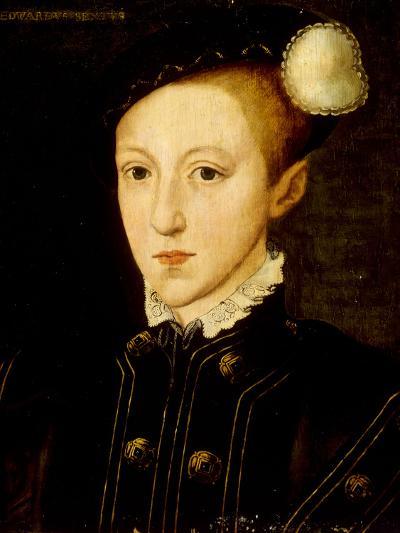 Portrait of Edward VI-William Scrots-Giclee Print