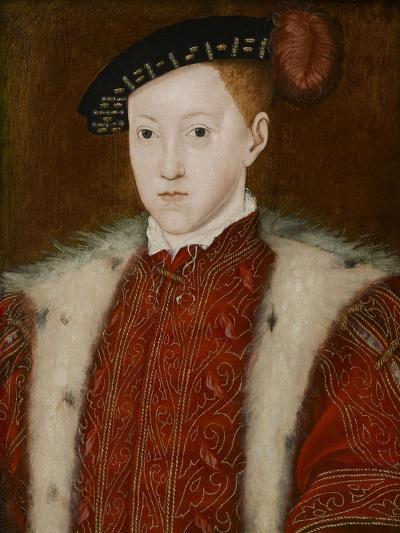 Portrait of Edward VI-Guillaume Scrots-Giclee Print
