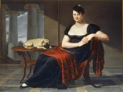 Portrait of Elena Mastiani Brunacci, 1809-Pietro Bigaglia-Giclee Print