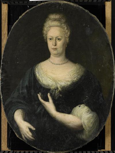 Portrait of Elisabeth Van Oosten, Wife of Abraham Van Riebeeck--Art Print