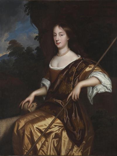 Portrait of Elizabeth Adams, Late 1660s-Mary Beale-Giclee Print