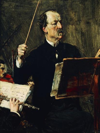Portrait of Emanuele Muzio--Giclee Print