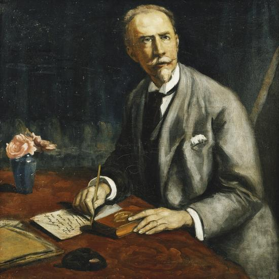 Portrait of Emile Bauman; Portrait D'Emile Bauman, 1927-Emile Bernard-Giclee Print