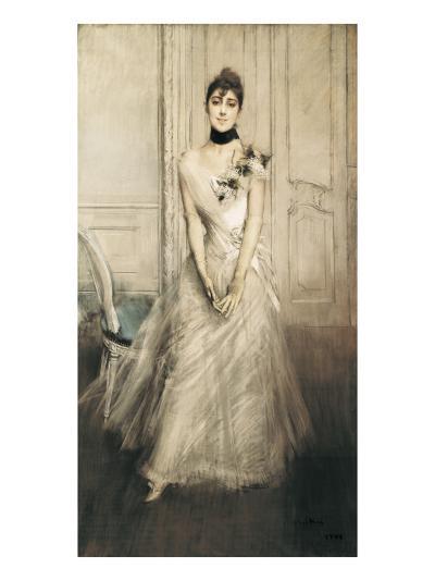 Portrait of Emiliana Concha De Ossa-Giovanni Boldini-Art Print