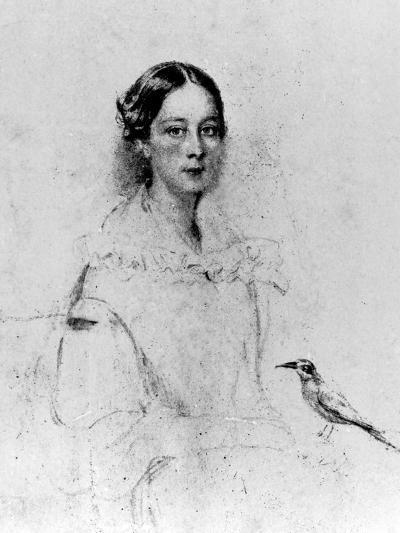 Portrait of Emily Shore--Giclee Print