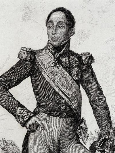 Portrait of Emmanuel De Grouchy--Giclee Print