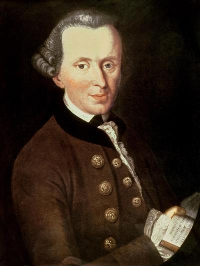 Portrait of Emmanuel Kant (1724-1804)--Giclee Print