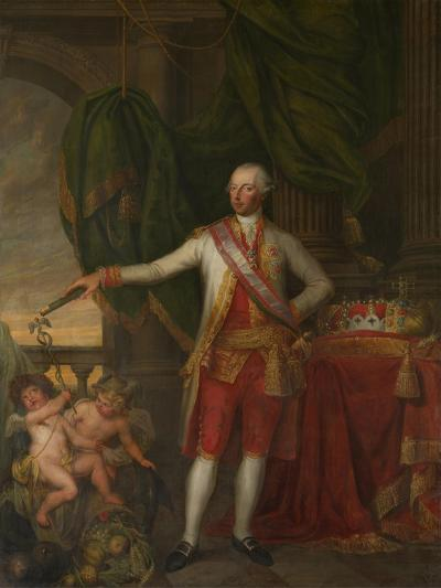 Portrait of Emperor Joseph II (1741-179), Second Half of the 18th C-Gertrude Cornélie Marie de Pélichy-Giclee Print