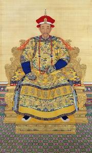 Portrait of Emperor Kangxi