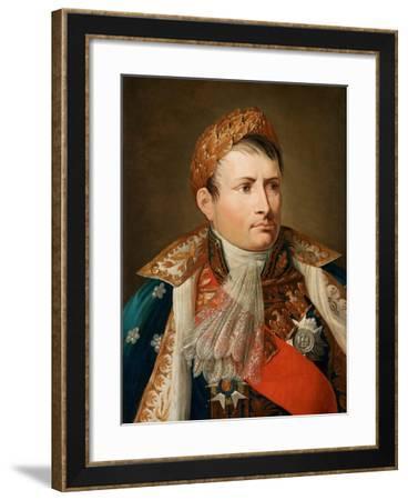 Portrait of Emperor Napoléon I Bonaparte (1769-182)-Andrea Appiani-Framed Giclee Print