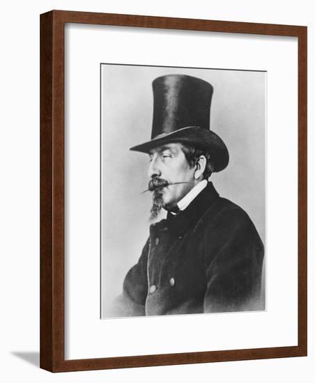 Portrait of Emperor Napoleon III-Nadar-Framed Photographic Print