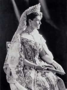 Portrait of Empress Alexandra Feodorovna
