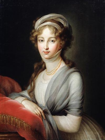 Portrait of Empress Elizabeth Alexeievna, C1795-Elisabeth Louise Vigee-LeBrun-Giclee Print