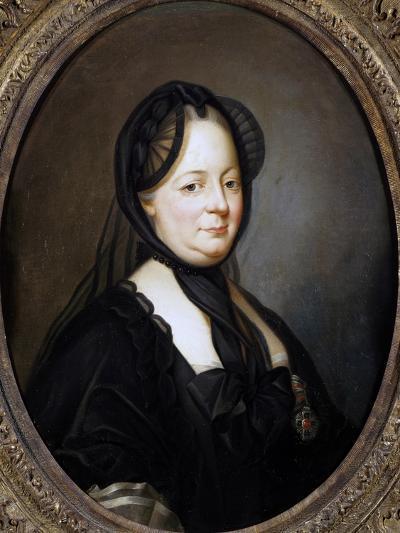 Portrait of Empress Maria Theresa of Austria--Giclee Print