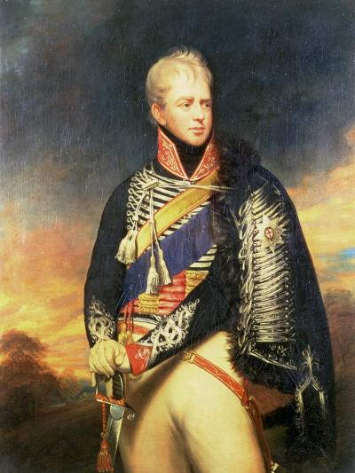 Portrait of Ernest, Duke of Cumberland and King of Hanover (1771-1851)-Sir William Beechey-Giclee Print