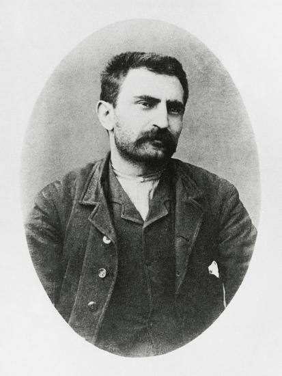 Portrait of Errico Malatesta--Giclee Print
