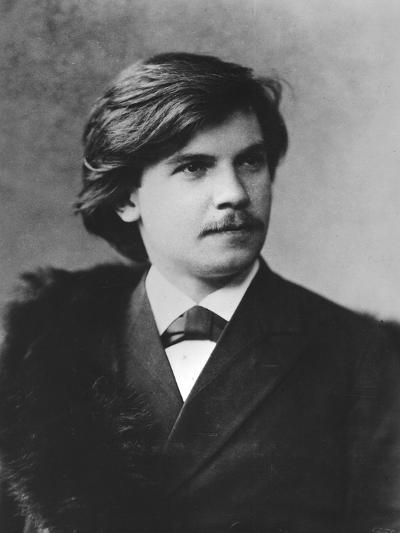 Portrait of Eugen D'Albert--Photographic Print
