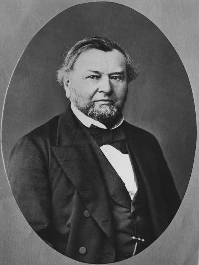 Portrait of Eugène Melchior Peligot--Photographic Print
