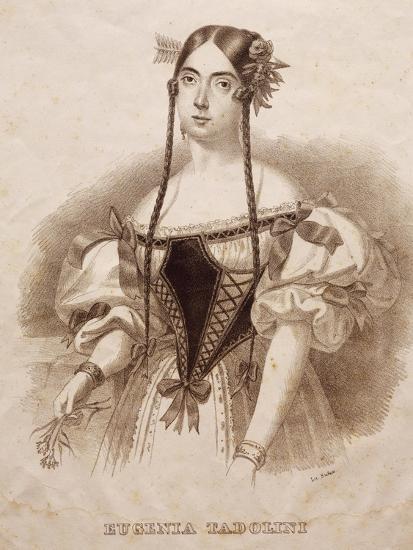 Portrait of Eugenia Savorani Tadolini--Giclee Print