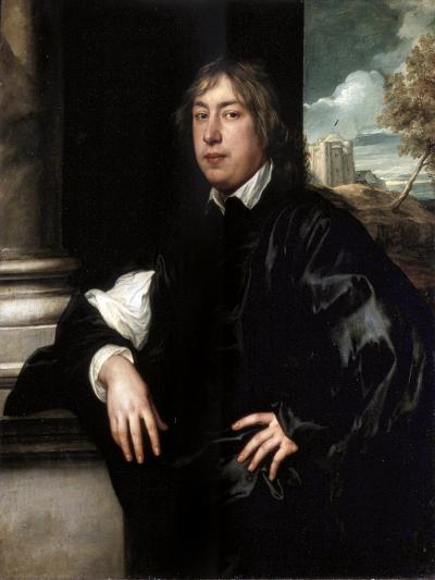 Portrait of Everhard Jabach, (1610-169), 1636-1637-Sir Anthony Van Dyck-Giclee Print