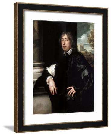 Portrait of Everhard Jabach, (1610-169), 1636-1637-Sir Anthony Van Dyck-Framed Giclee Print