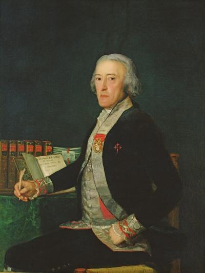 Portrait of Felix Colon De Larriategui, 1794-Francisco de Goya-Giclee Print