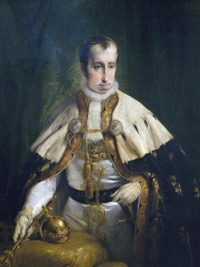 Portrait of Ferdinand I of Austria-Francesco Laurana-Giclee Print