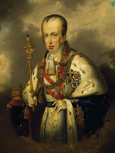 Portrait of Ferdinand I of Austria--Giclee Print