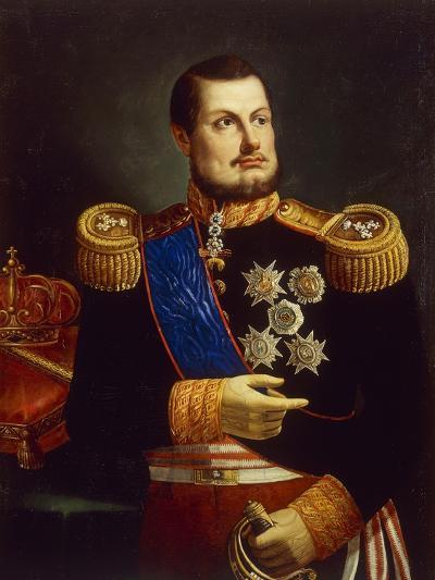 Portrait of Ferdinand II of Two Sicilies--Giclee Print