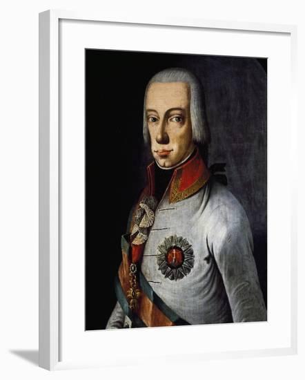 Portrait of Ferdinand III, Grand Duke of Tuscany--Framed Giclee Print