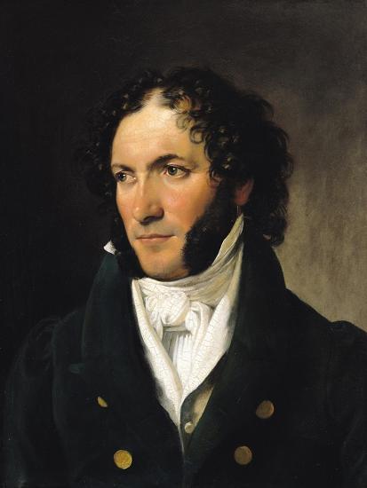 Portrait of Ferdinando Paer--Giclee Print