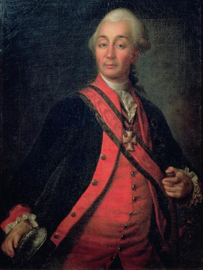 Portrait of Field Marshal Generalissimo, Count Aleksandr Vasilievich Suvorov-Dmitri Grigor'evich Levitsky-Giclee Print