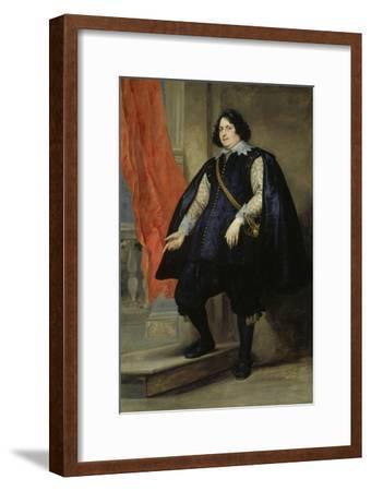 Portrait of Filips de Godines-Anthonis van Dyck-Framed Giclee Print